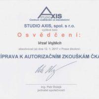 Elektroinstalace vrzal - certifikace